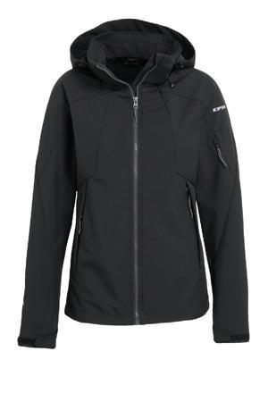 outdoor jas Baraboo zwart