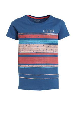 unisex T-shirt Miami donkerblauw