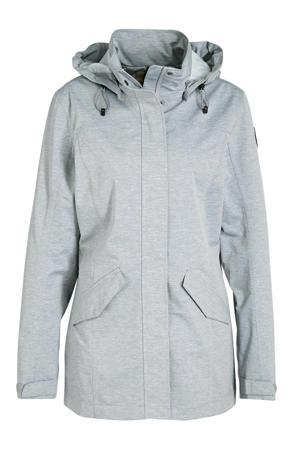 outdoor jas Abbyville lichtgrijs