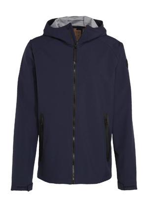 outdoor jas Alvord donkerblauw