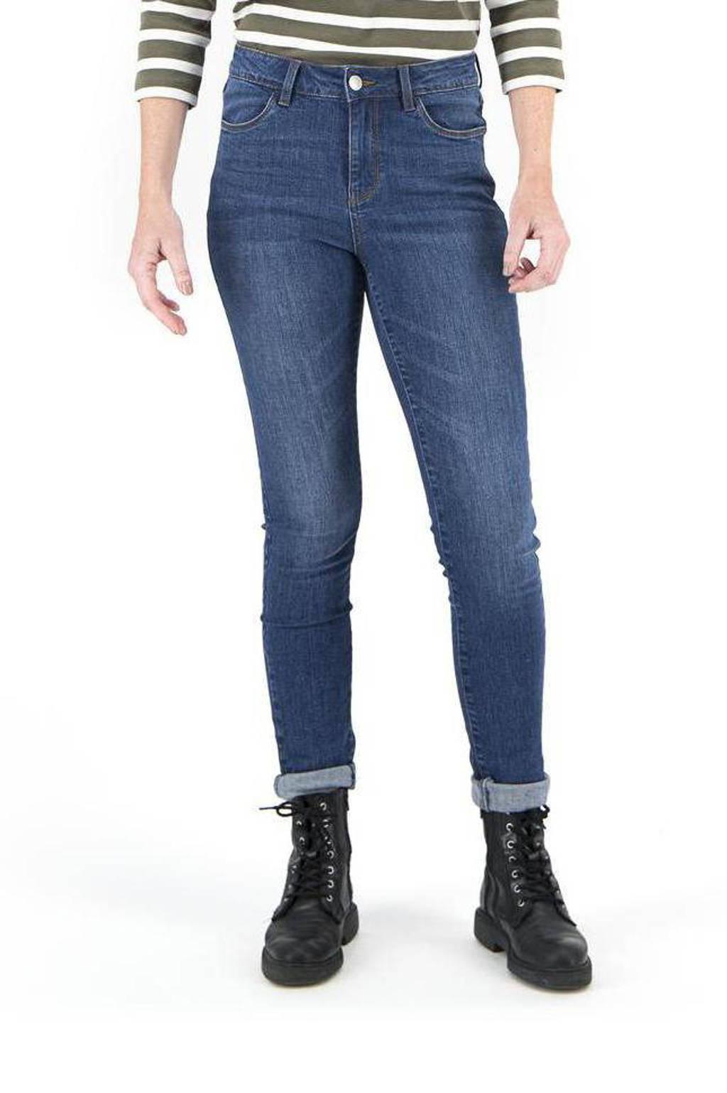 HEMA skinny jeans middenblauw
