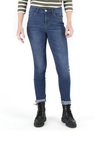 skinny jeans middenblauw
