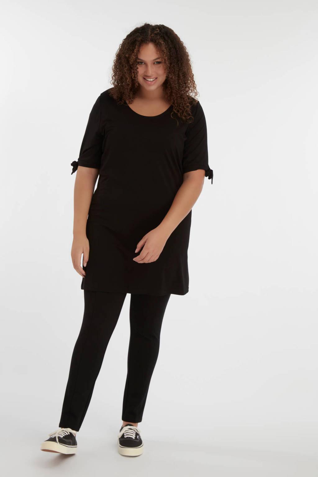 MS Mode super skinny legging zwart, Zwart