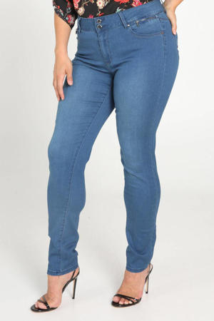 high waist skinny jeans light denim