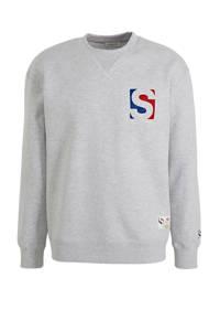 SELECTED HOMME gemêleerde sweater grijs, Grijs