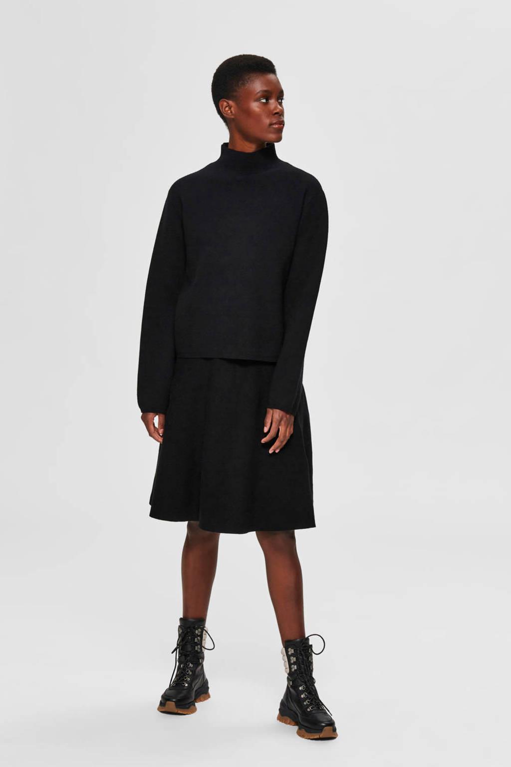 SELECTED FEMME trui zwart, Zwart
