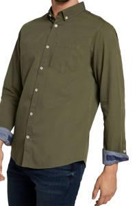 Tom Tailor regular fit overhemd olijfgroen, Olijfgroen