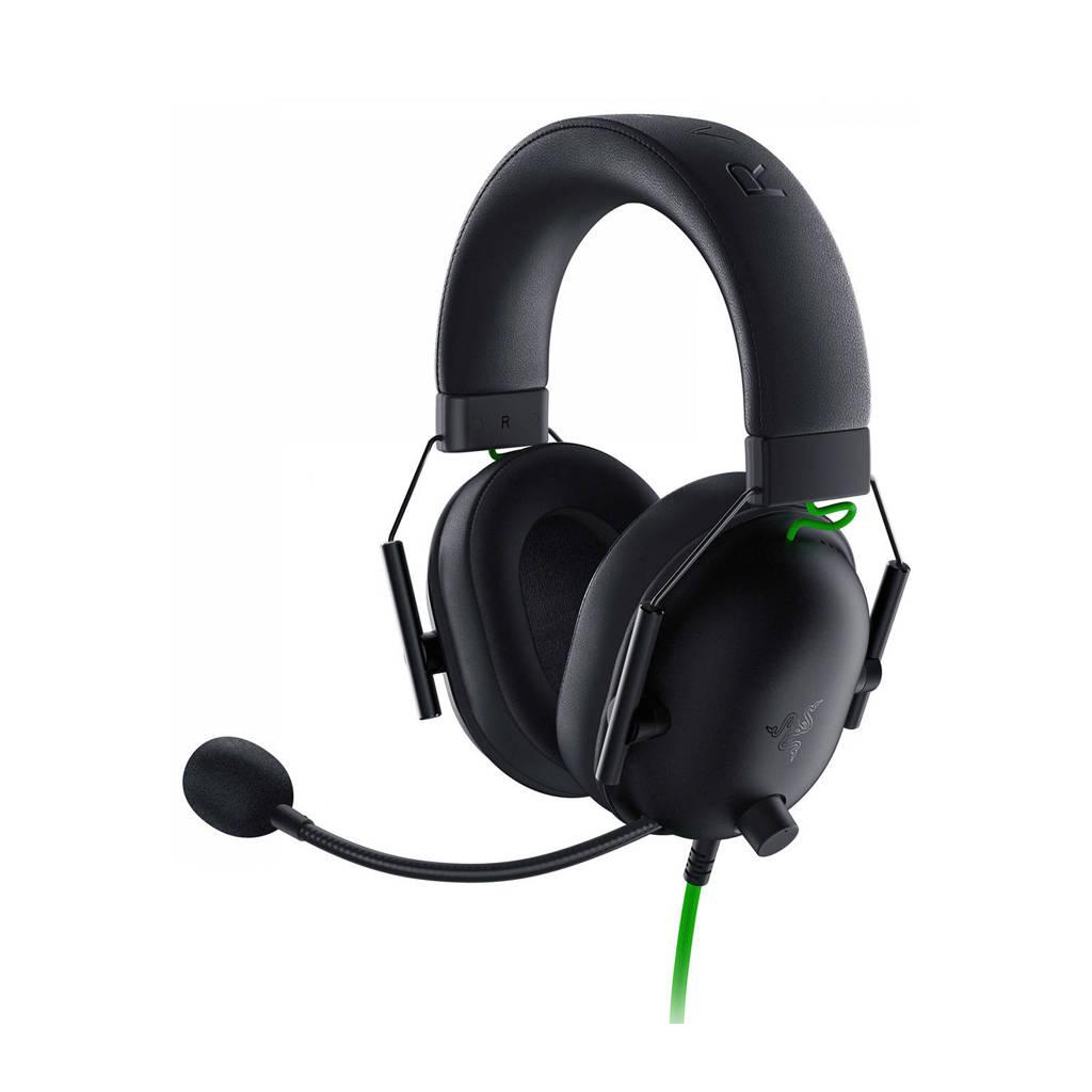 Razer  BlackShark V2 X gaming headset, Black,Green