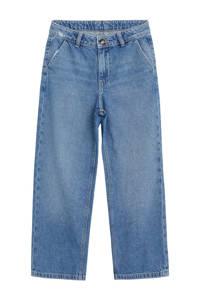 Mango Kids loose fit jeans stonewashed, Stonewashed
