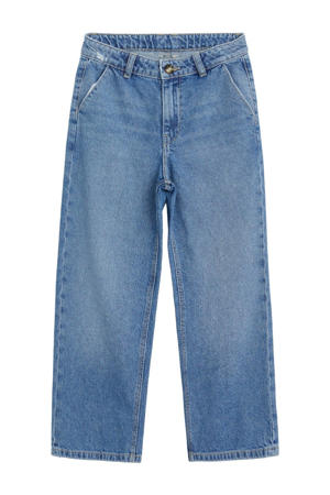loose fit jeans stonewashed