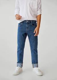 Mango Kids regular fit jeans dark denim, Dark denim