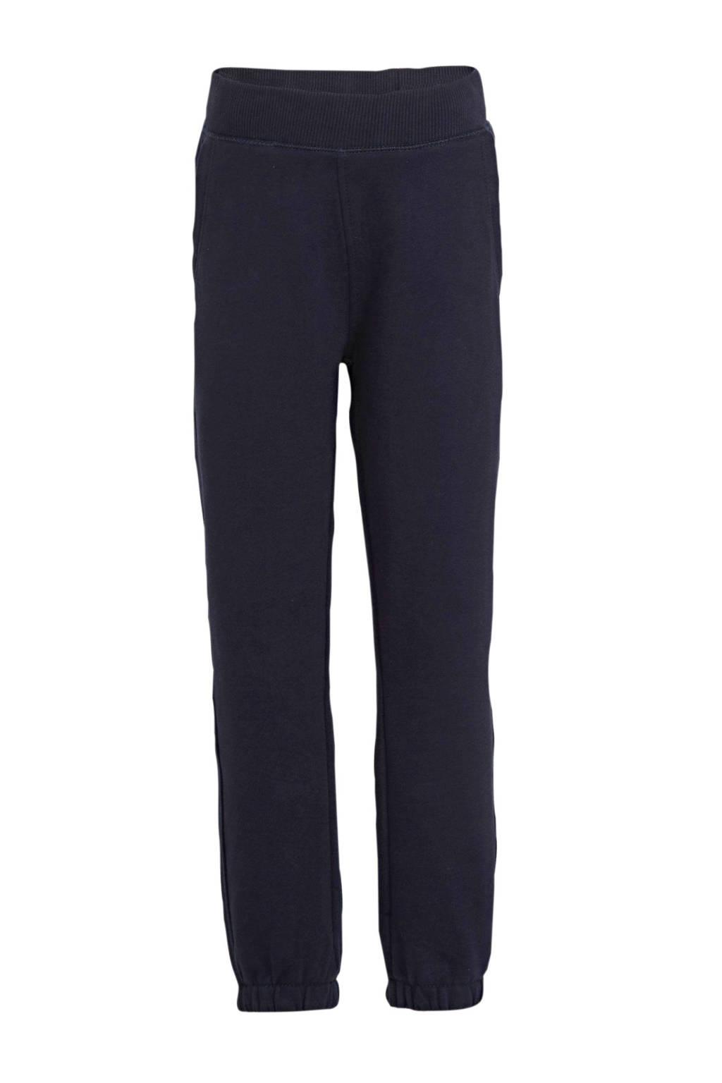 s.Oliver regular fit broek donkerblauw, Donkerblauw