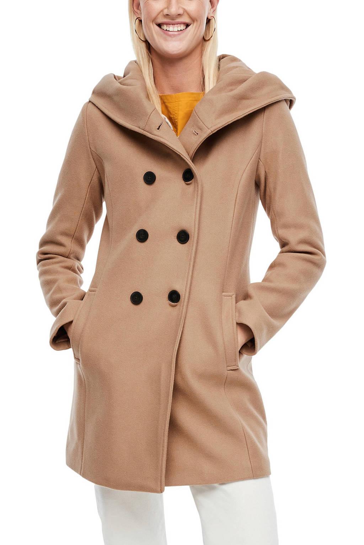 s.Oliver coat camel, Camel