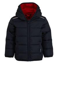 s.Oliver gewatteerde winterjas donkerblauw/rood, Donkerblauw/rood