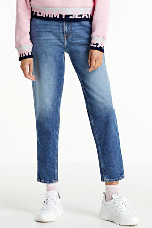 high waist mom jeans oslo light blue comfort