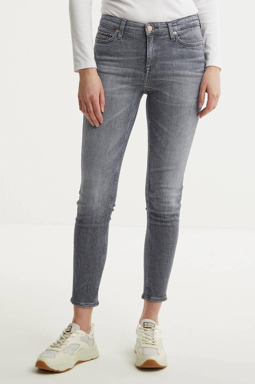 Tommy Hilfiger high waist skinny jeans Nora midnight grey str, Midnight Grey Str