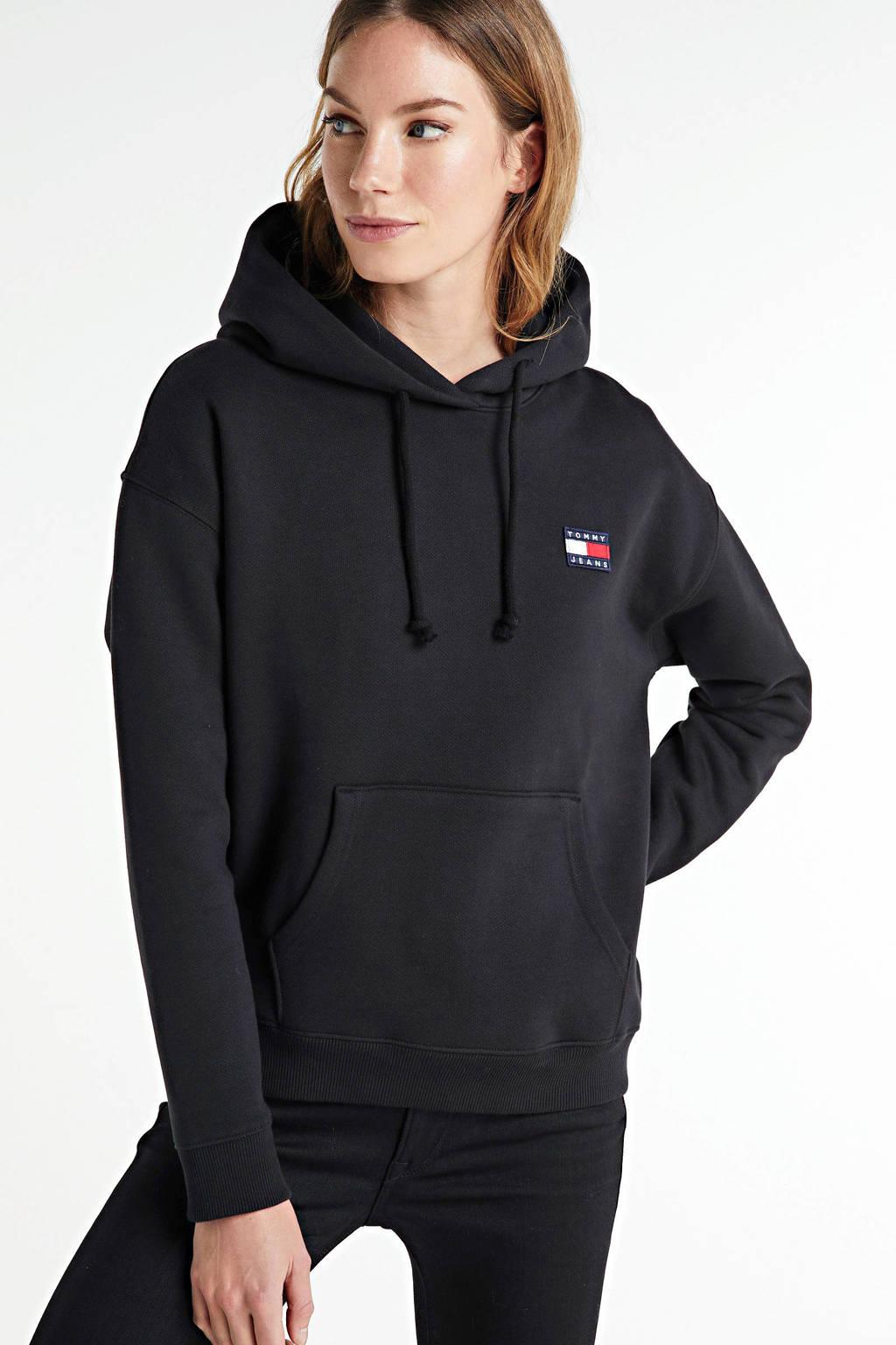 Tommy Hilfiger hoodie black, Black