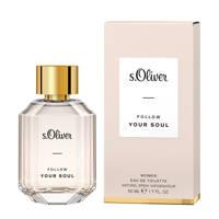 s.Oliver Follow your Soul eau de toilette - 50 ml