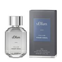 s.Oliver Follow your Soul eau de toilette - 30 ml