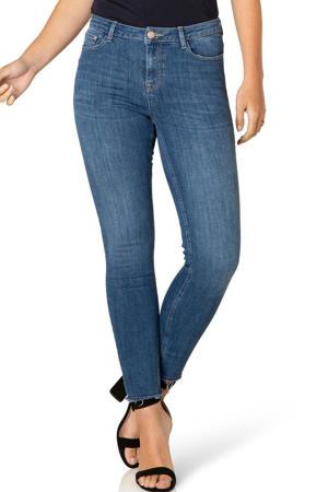 high waist skinny jeans Ann light denim stonewashed