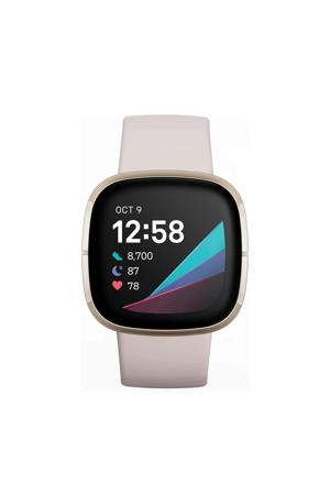 Sense smartwatch (wit/goud)
