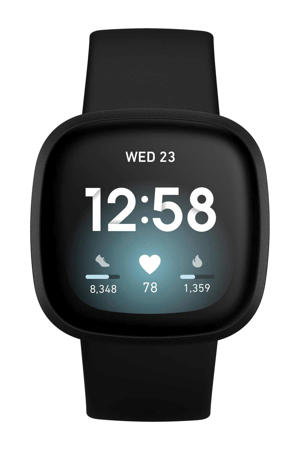 Versa 3 smartwatch (zwart)