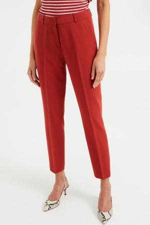 regular fit broek rood