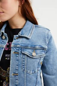 WE Fashion spijkerjas lichtblauw, Lichtblauw