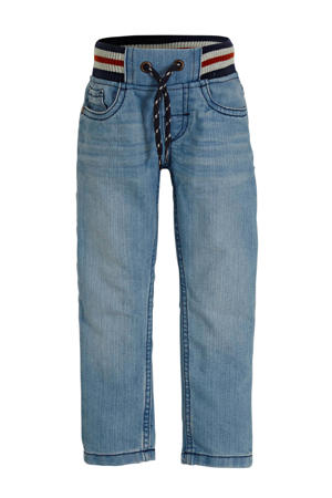straight fit jeans blauw