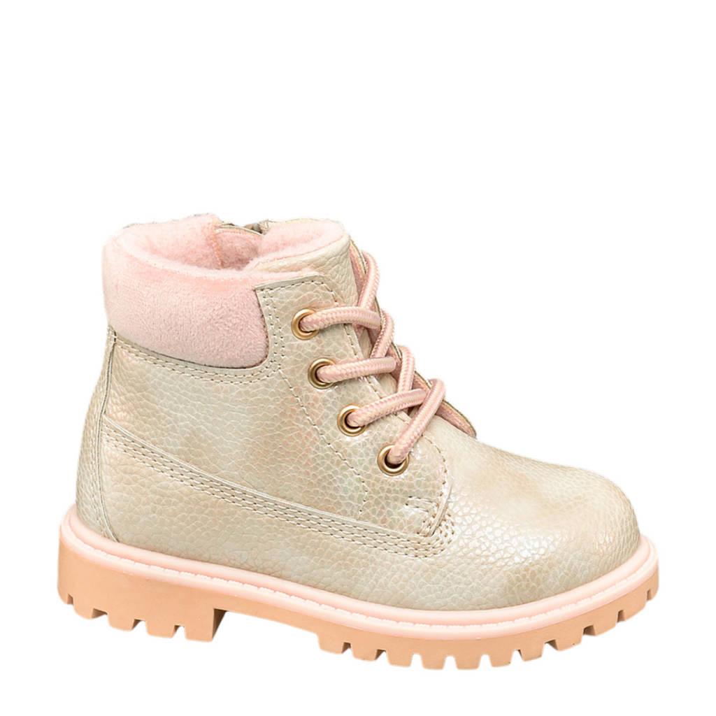Cupcake Couture   veterboots beige/roze, Beige/roze