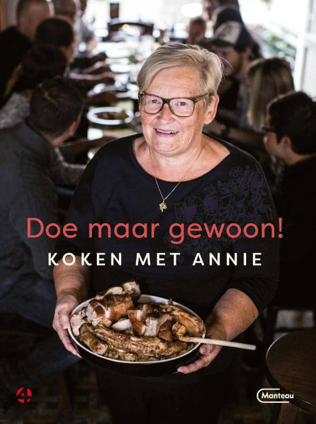 Doe maar gewoon Koken met Annie - Annie De Leersnyder