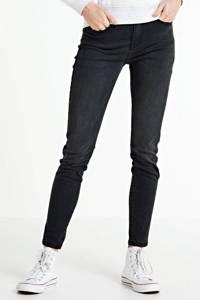 Il Dolce high waist skinny jeans Sylvie grey, Grey
