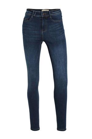 high waist skinny jeans Sylvie medium dark blue