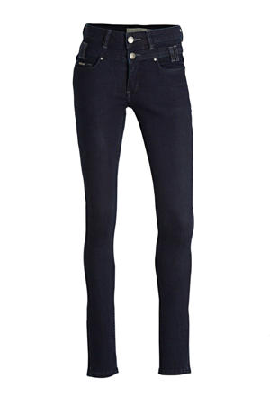 high waist slim fit jeans Ibiza dark rinse wash