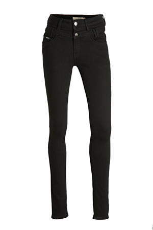 high waist slim fit jeans Ibiza black