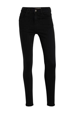 high waist skinny jeans Sylvie black