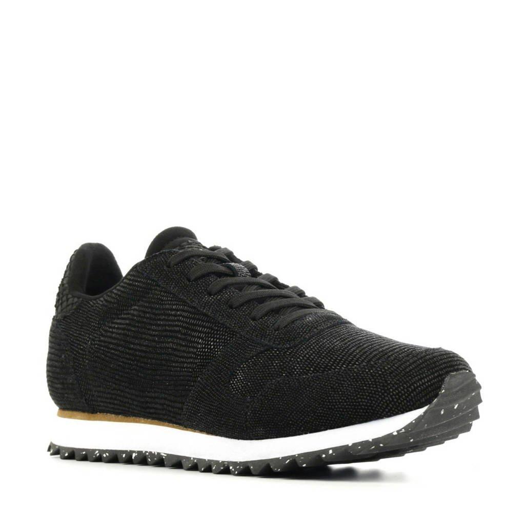 Woden Ydun Pearl II  sneakers zwart, Zwart