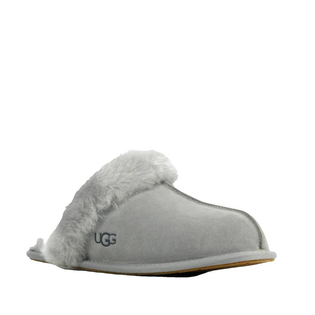 UGG Scufette II suède pantoffels grijs, Grijs