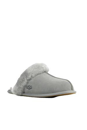 Scufette II suède pantoffels grijs