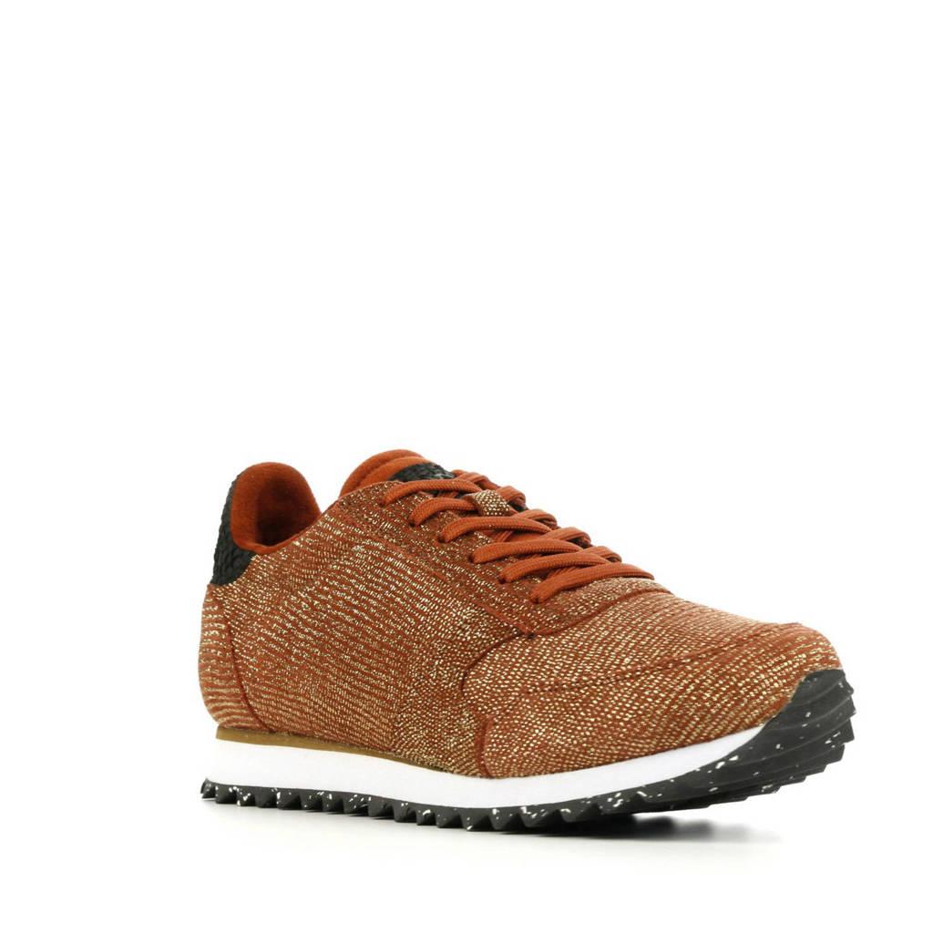 Woden Ydun Pearl II  sneakers roodbruin, Brique/Roodbruin
