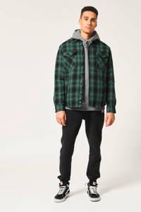 America Today geruit regular fit overhemd groen, Groen