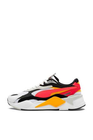 RS-X³ Puzzle sneakers wit/geel/fluor roze/zwart