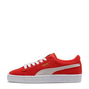 Smash V2 Suede Jr sneakers rood/wit