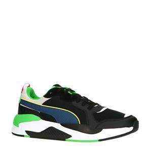 X-Ray  sneakers zwart/blauw/lichtgrijs