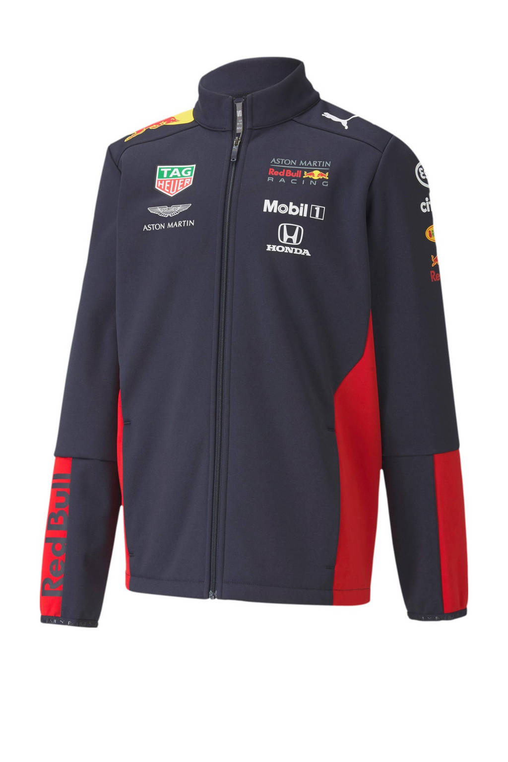Puma   Red Bull Racing softshell vest donkerblauw, Donkerblauw