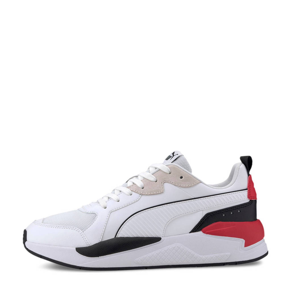 Puma X-ray game  sneakers wit/zwart/rood, Wit/zwart/rood