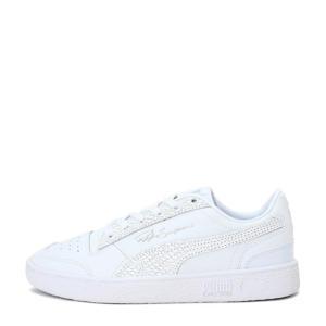 Ralph Sampson Lo Snake leren sneakers wit/zilver