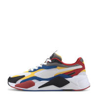 Puma RS-X³ Puzzle sneakers wit/geel/zwart/rood