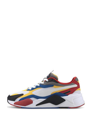 RS-X³ Puzzle sneakers wit/geel/zwart/rood