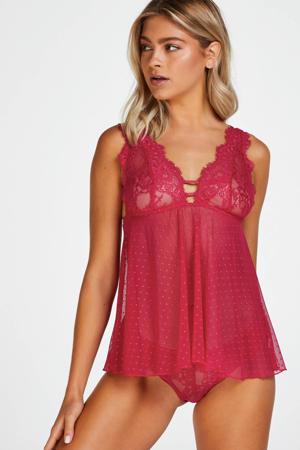 slipdress Tricia roze